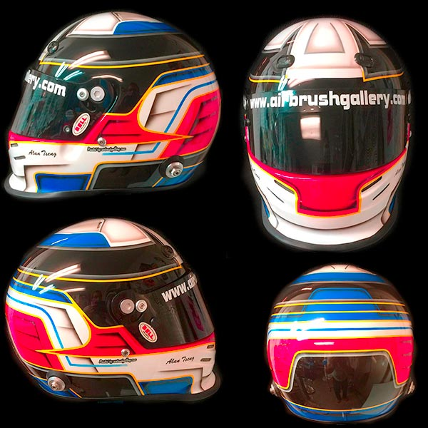 Bell Race Helmet Custom Design Race Helmet Painting