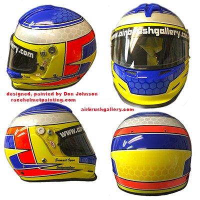 Bell youth race helmet