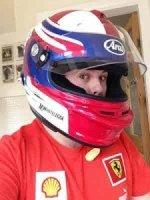 Arai helmet custom painted