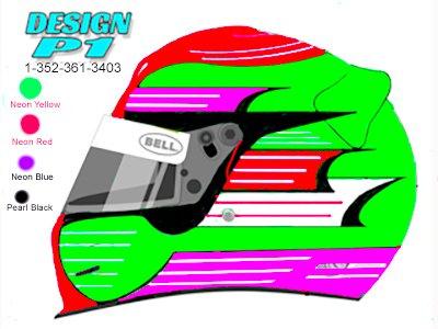 computer rendering helmet design