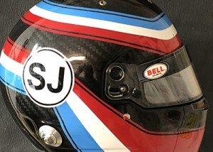 Bell race helmet 3