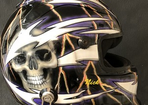 simpson race helmet 418a