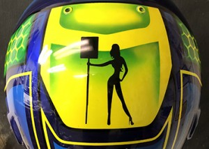 bell race helmet design 718-4
