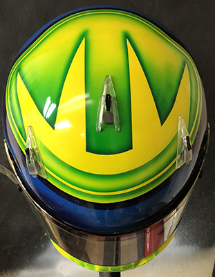 bell race helmet design 718