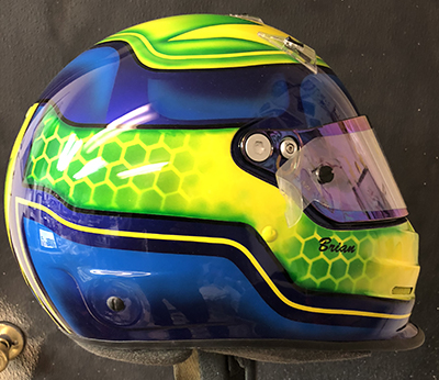 bell race helmet design 718-3