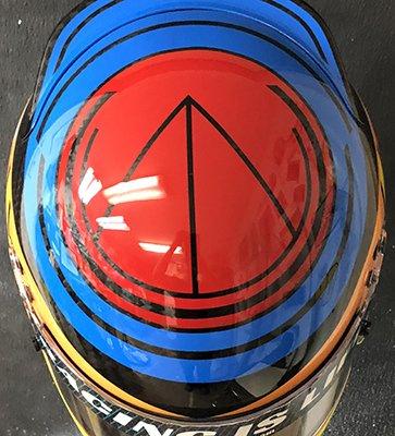 Bell race helmet design 10-18.4
