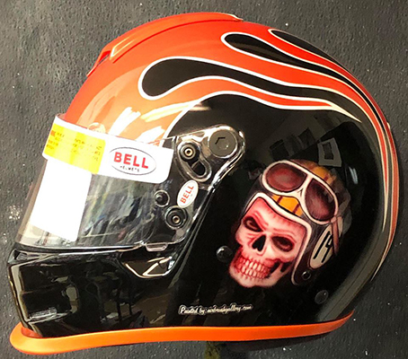 Bell GP2 race helmet for youth