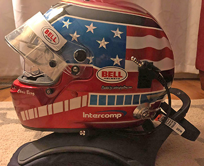 bell race helmet design for chris