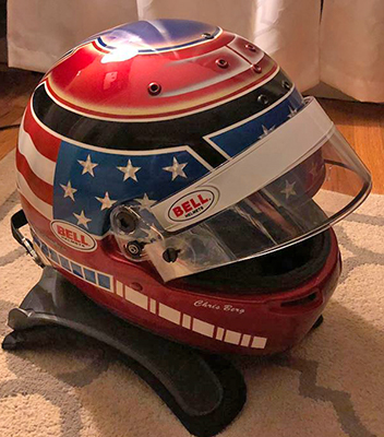 bell race helmet design chris berg