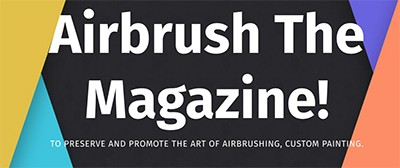 airbrush the magazine small logo