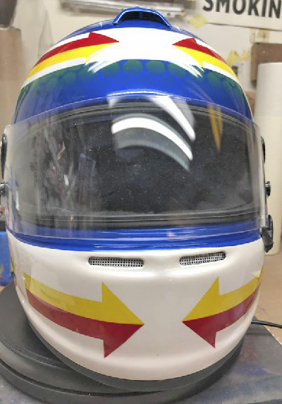 Race helmet design 4.15