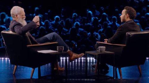 Letterman With Lewis Hamilton