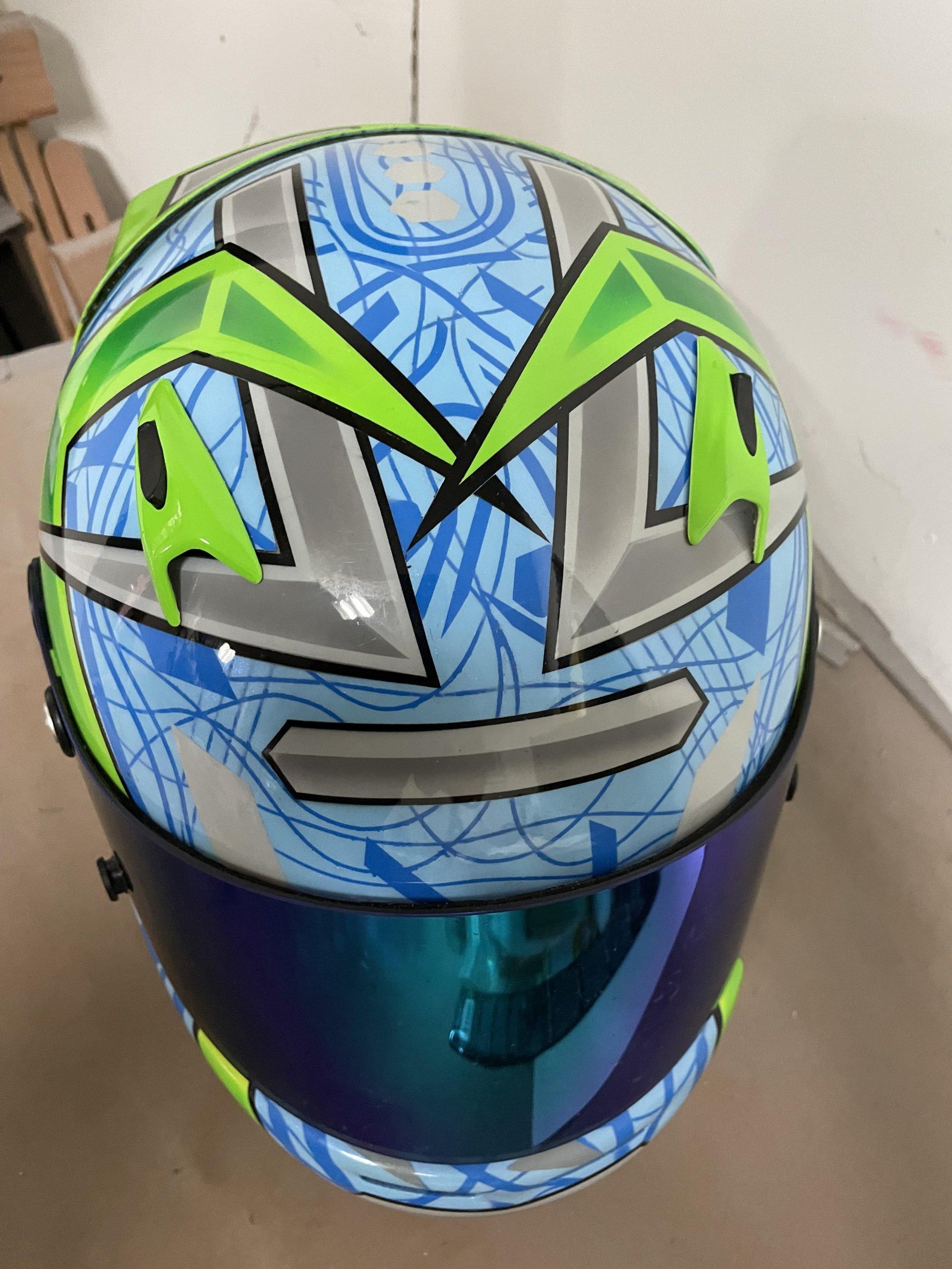 race helmet 2 sept